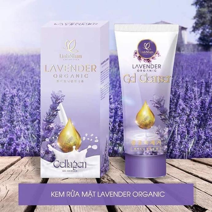 Kem Rữa Mặt Lavender Organic MS1058