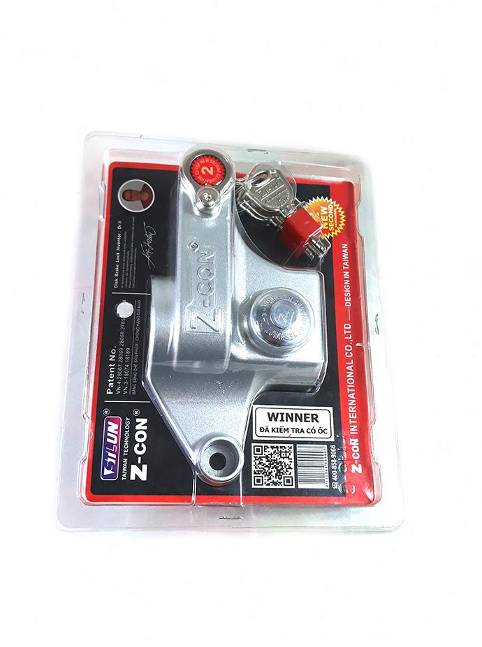 Khóa Chống Trộm Xe Winner Z-CON MS1252