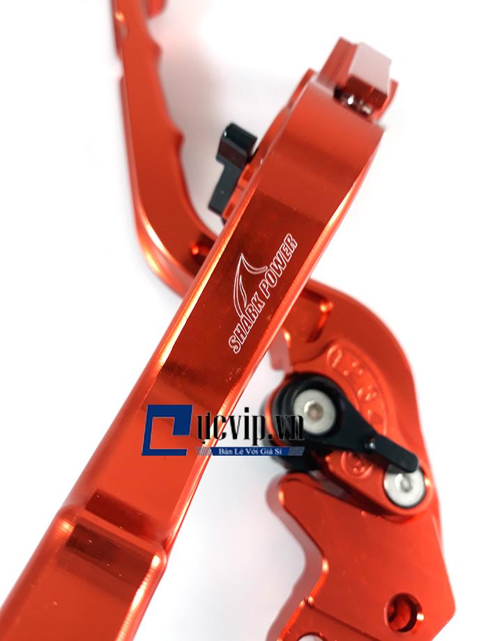 Cặp Tay Thắng Nhôm CNC Shark Power Gắn Xe Air Blade MS1426