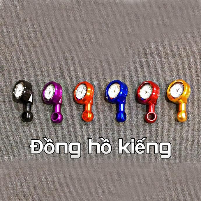 Đồng Hồ Chân Kiếng Nhôm CNC Cao Cấp MS1430
