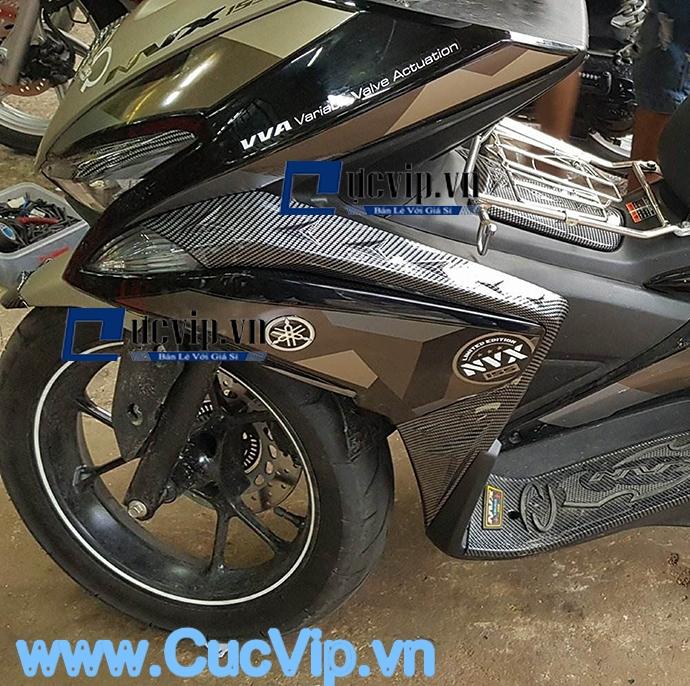 Ốp Co Bửng Trước Carbon Cho Xe Yamaha NVX MS1605