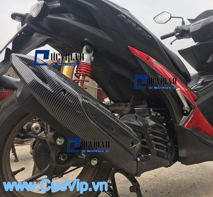 Ốp Pô Carbon Đẳng Cấp Cho Xe Yamaha NVX MS1608