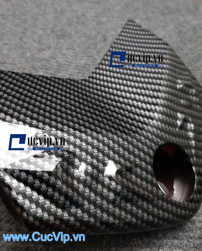 Ốp Chụp Lái Carbon Cho Xe NVX MS1613