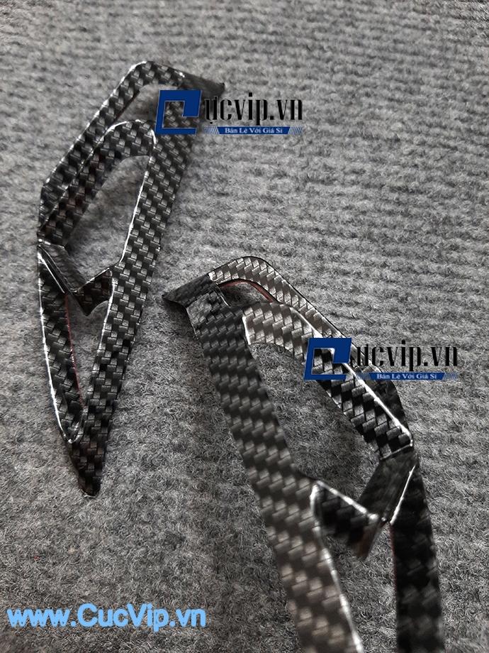 Ốp Đèn Sương Mù Carbon Cho Xe NVX MS1615
