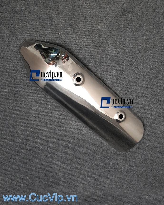 Ốp Pô Kiểu SH Ý Gắn Xe SH 2009 - 2011 (Inox 100%) Cao Cấp MS1656