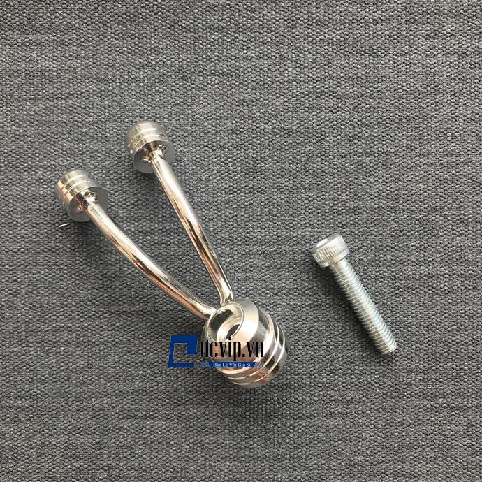 Móc Treo Đồ Nhôm CNC Kiểu Dáng 2 Râu Cho Xe Máy MS1688