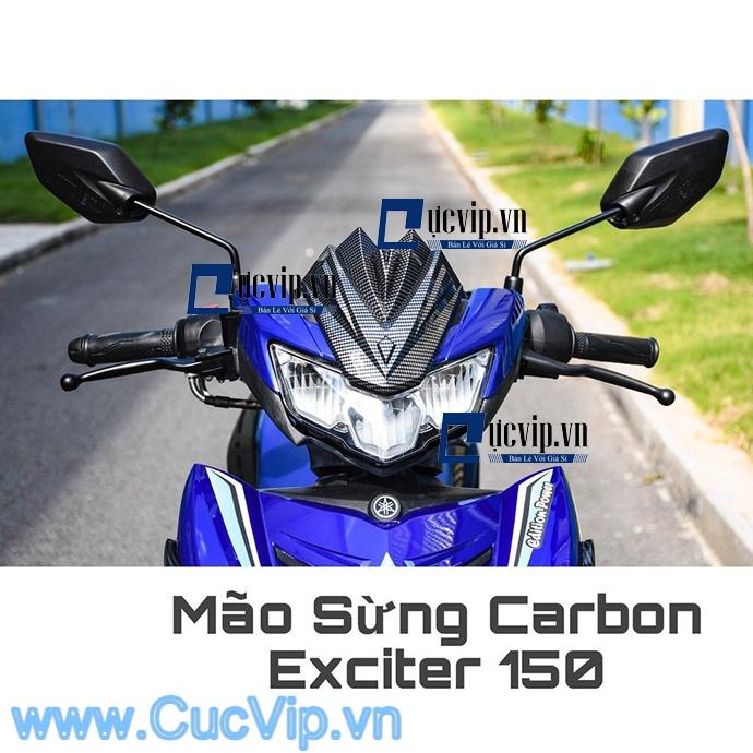 Mão Sừng Exciter 150 2019 Carbon Đẳng Cấp MS1690