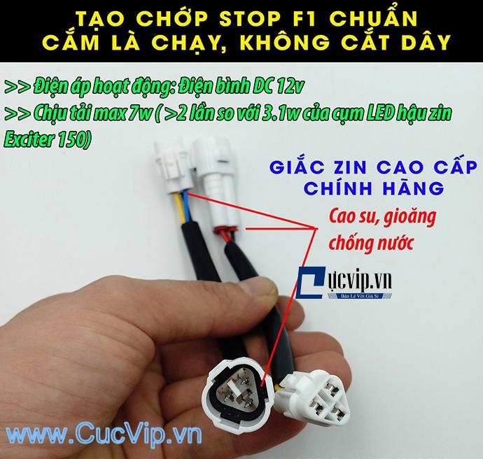 Mạch Nháy Đèn Hậu Stop F1 Cho Exciter 150 MS1727