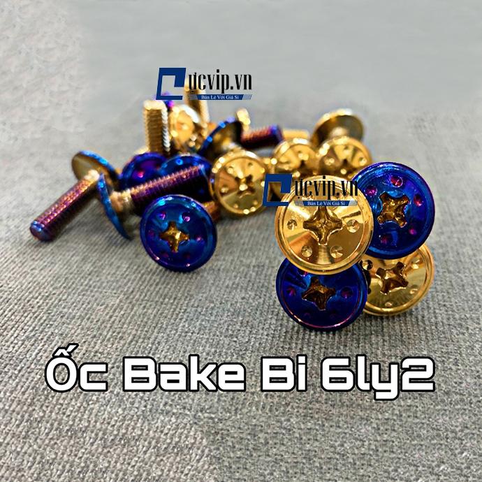 Ốc Bake Bi 6Ly2 Dù Titan Vàng MS1744