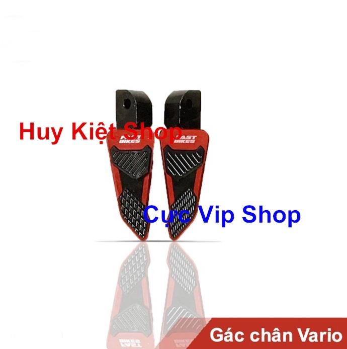 Gác Chân Sau Fast Bikes Full Nhôm CNC Gắn Xe VarioClick Air Blade MS1431