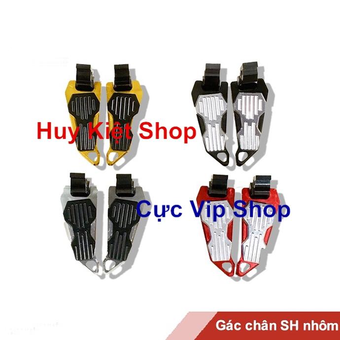 Gác Chân Bikers Full Nhôm CNC Gắn Xe SH 2012 - 2019 Đẳng Cấp MS1470