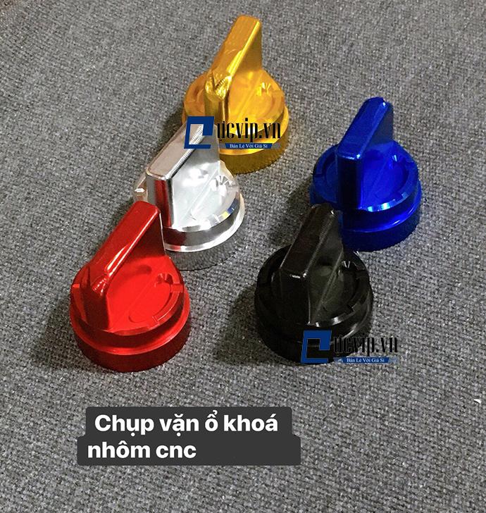 Núm Nhôm CNC Cho Khóa Smarkey MS1786