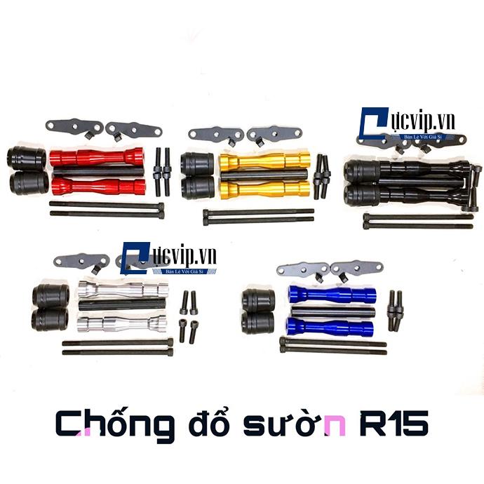 Chống Đổ Sườn Xe R15 V3 V2 Nhôm CNC Đẳng Cấp MS1796