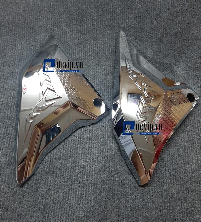 Ốp Sườn Xi Inox Gắn Cho Xe Winner X MS1805