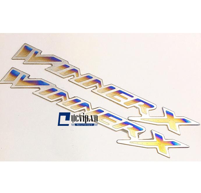 Bộ 2 Tem Logo Winner X Titan MS1892