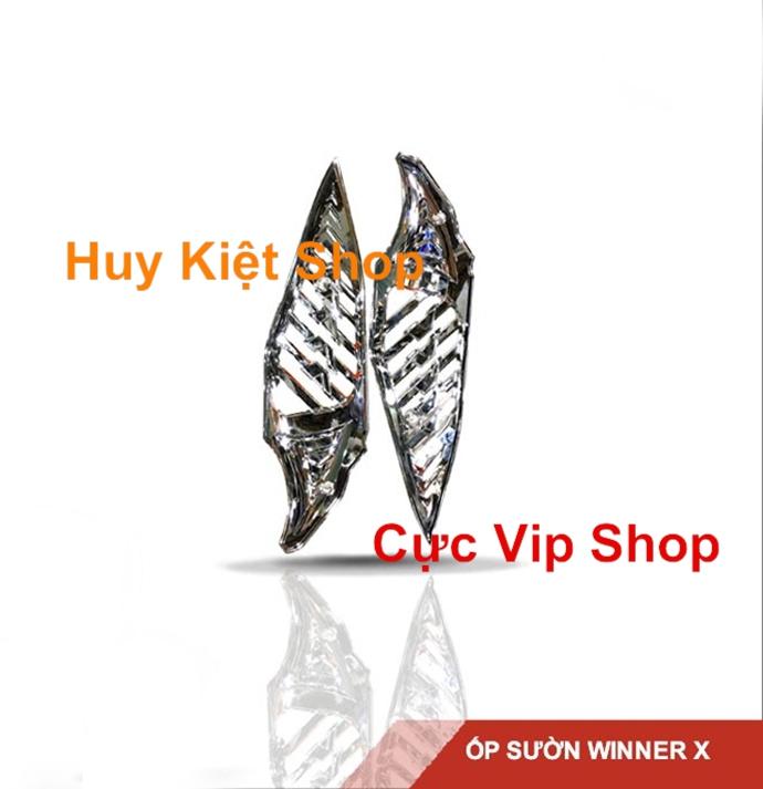 Ốp Sườn Winner X Nhựa Xi Inox Cao Cấp MS1936