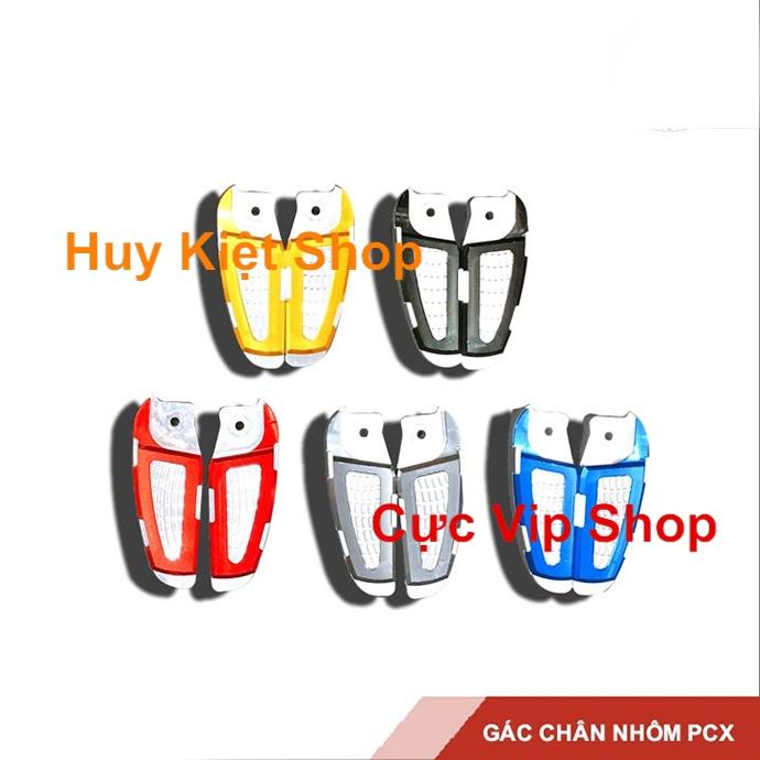 Gác Chân Sau Nhôm CNC Dành Cho PCX 2018 - 2019 Cao Cấp MS1937