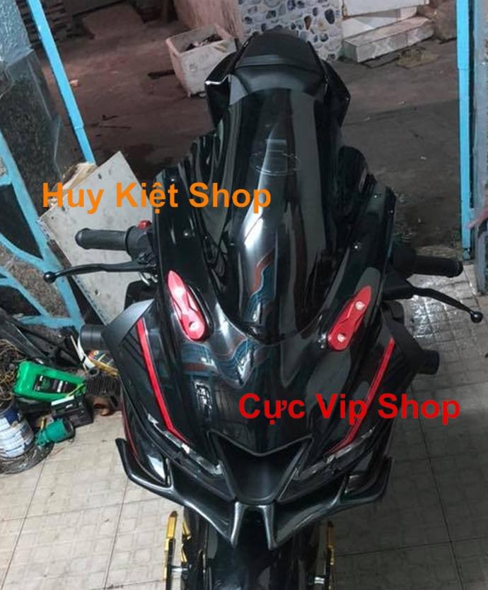 Che Chân Gương R15 V3 V2 Nhôm CNC MS1945