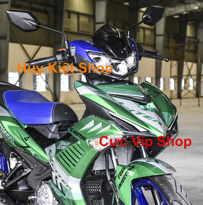 Mặt Nạ Độ Exciter 2015 - 2019 Sơn Kiểu MS1947