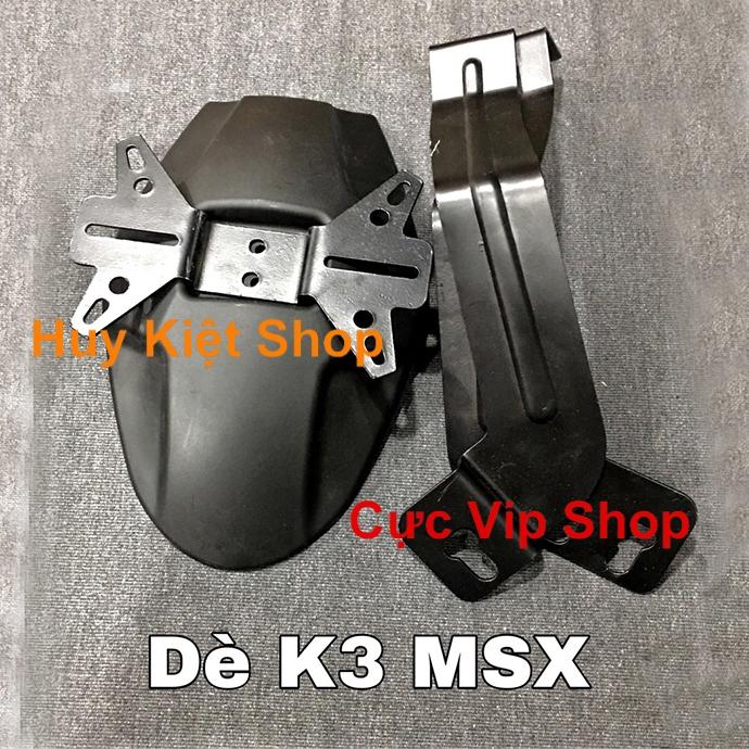 Dè Chắn Bùn K3 Gắn Xe MSX, Winner, Exciter 150 MS1965
