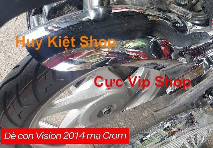 Dè Con Chắn Bùn Bánh Sau Vision 2014 - 2019 Xi Inox MS1984