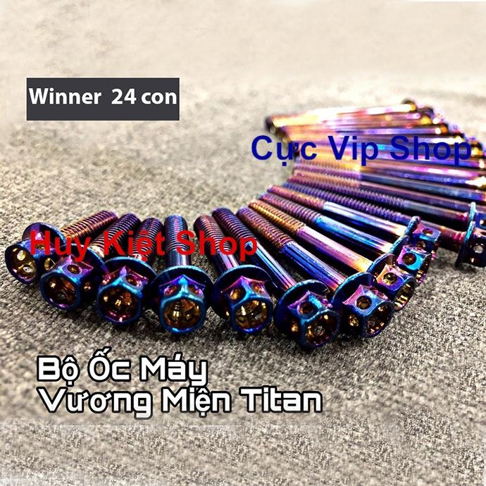Bộ Ốc Máy Vương Miện Titan Cho Xe Winner MS2122