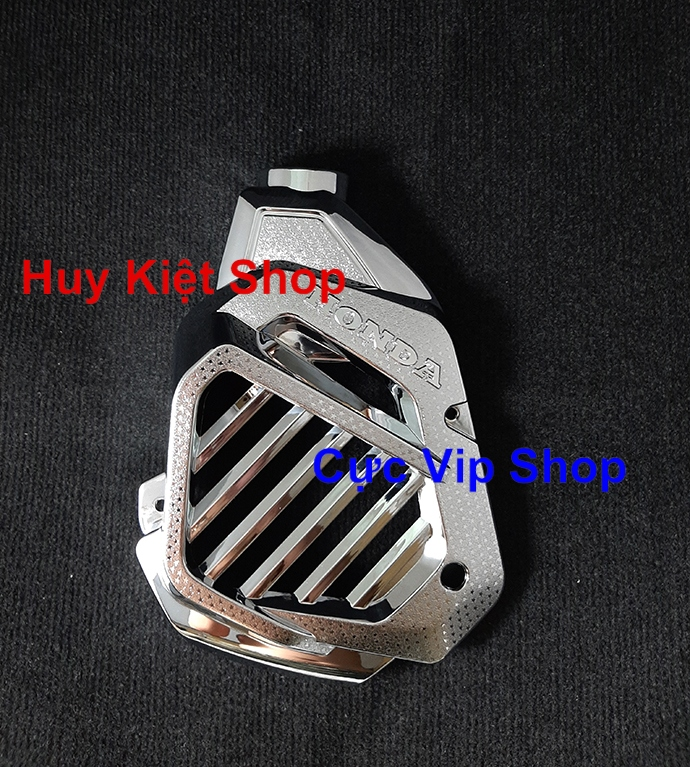 Ốp Quạt Gió SH Mode Xi Inox Cao Cấp MS2131