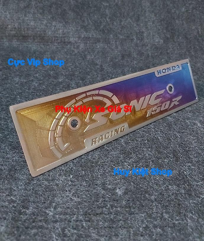 Bảng Tên Sonic Titan 3D MS1904