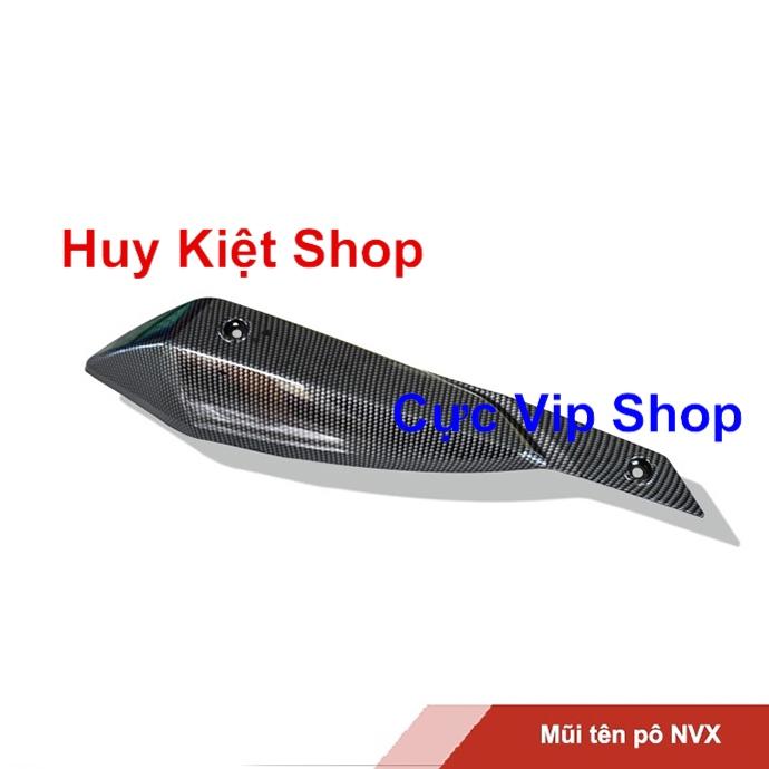 Mũi Tên Ốp Pô Cho Xe NVX Carbon MS2191