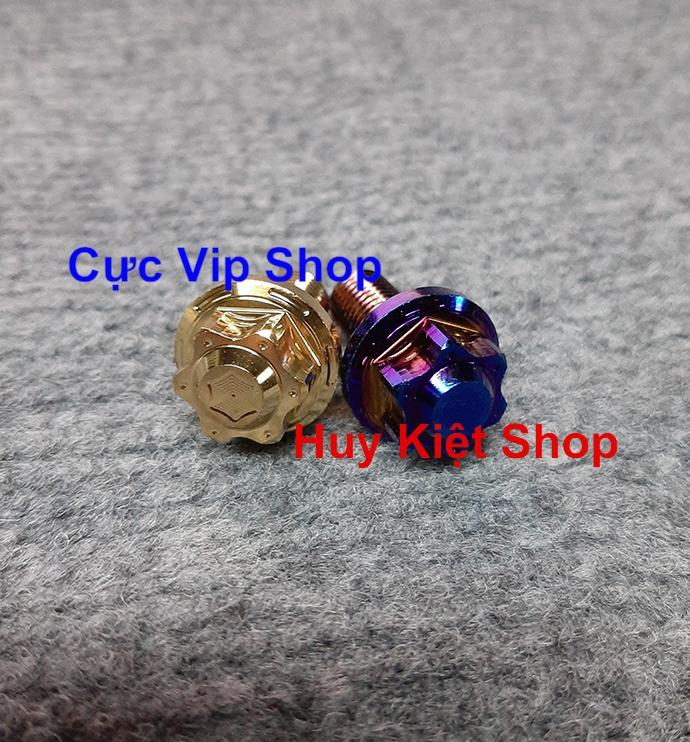 Ốc Chân Kiếng Salaya Xi Titan 10 Ly Ren Ngược MS2243