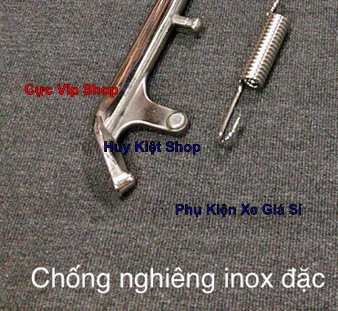 Chân Chống Nghiêng Inox 304 Đặc Cho Nhiều Loại Xe Exciter, Winner, AB, Vario, Raider, Satria, Sonic MS2349