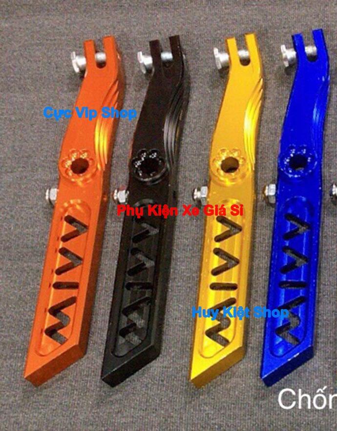 Chân Chống Nghiêng Wim K5 Nhôm CNC Cho Mọi Loại Xe Exciter Winner Raider Satria Sonic MS2355