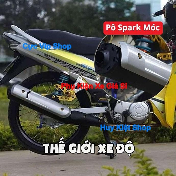 Che Pô Sirius Spark Sơn Bạc Cao Cấp MS2358