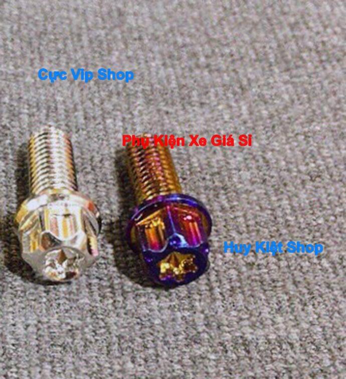 Ốc 8 Ly Salaya Đầu Trụ Inox, Xi Titan, Xi Vàng MS2372