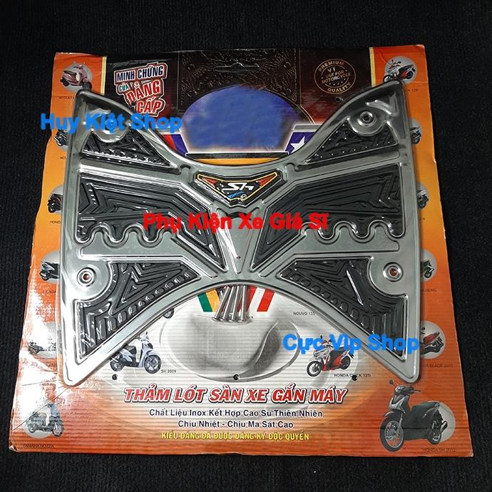 Thảm SH 2012 - 2016 INOX (Tặng Kèm Ốc) MS2418 1