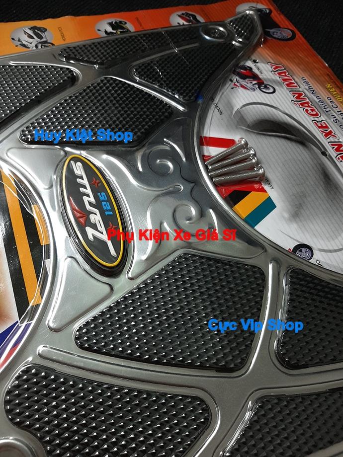 Thảm Lót Chân Yamaha Janus INOX (Tặng Kèm Ốc) Cao Cấp MS2430