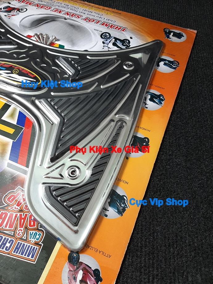 Thảm Lót Chân SH Mode INOX (Tặng Kèm Ốc) MS2432