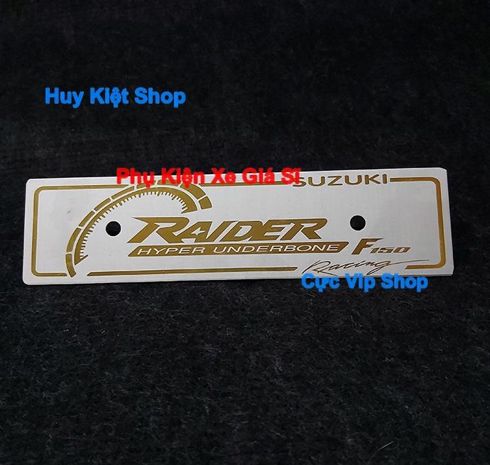 Bảng Tên Raider Nhôm Màu Cao Cấp MS2464