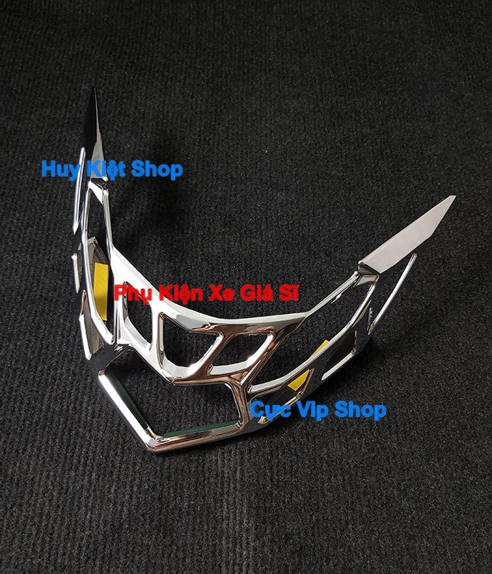 Ốp Chụp Lái Đèn Hậu AirBlade 2020 Xi Mạ Inox, Crom MS2470