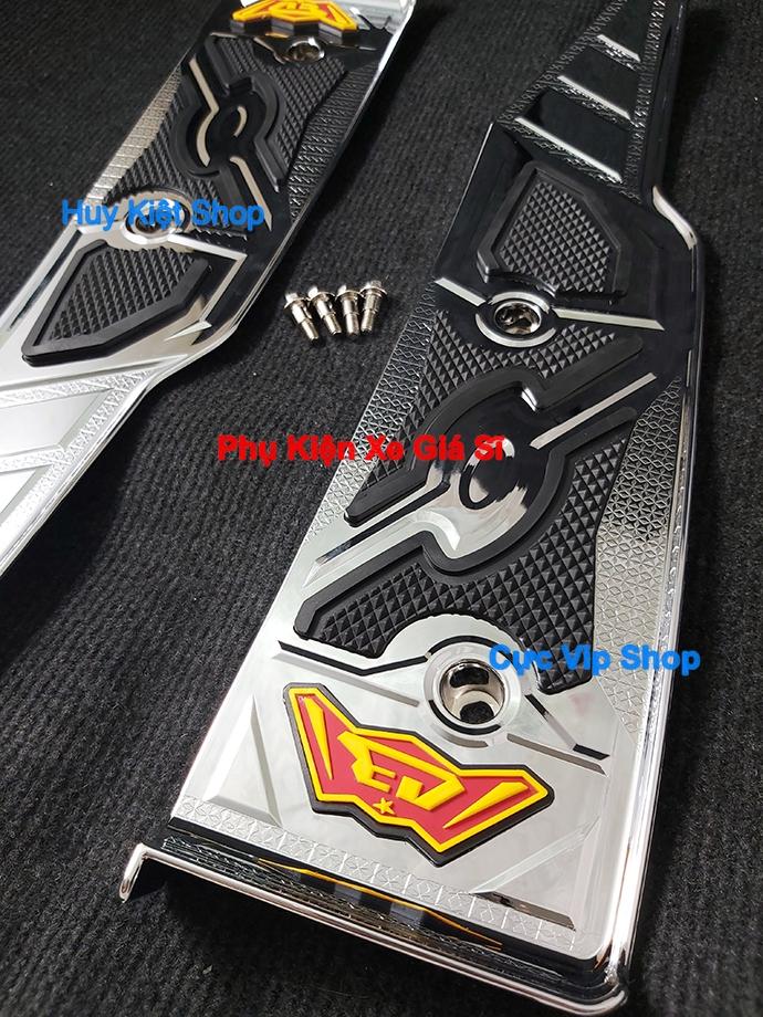 Thảm Lót Chân AirBlade 2020 Xi Mạ Inox, Crom MS2485