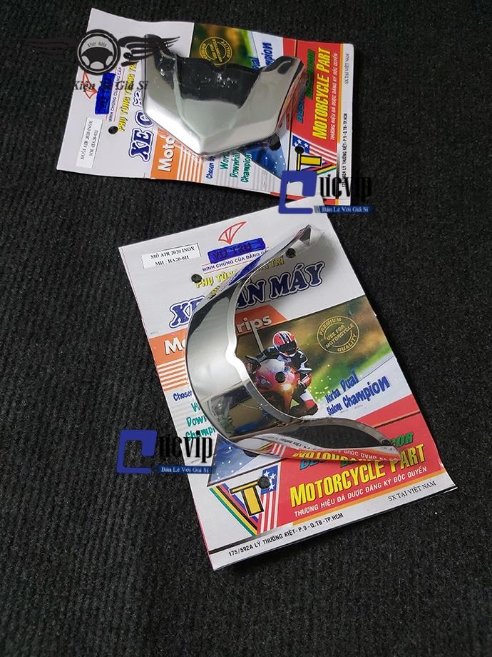 Bộ Ốp Mỏ Và Đuôi Dè AirBlade 2020 INOX MS2500