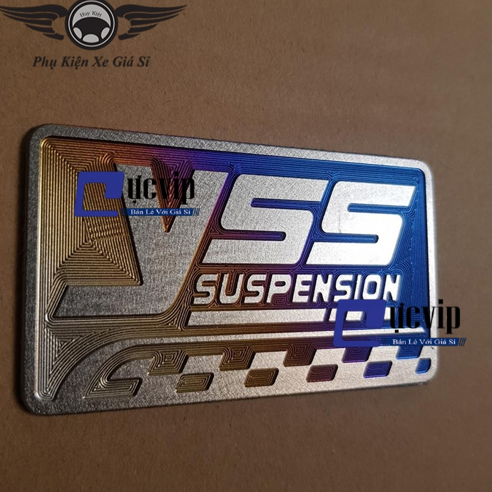 Tem Logo Titan Miếng Lớn Chữ Yes Cao Cấp MS2558