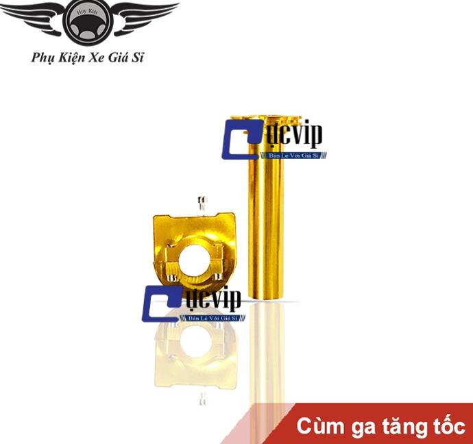 Cùm Ga Tăng Tốc Nhôm CNC Gắn Mọi Loại Xe MS2571