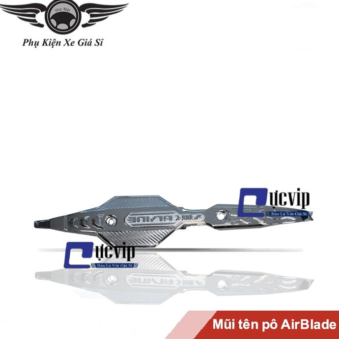 Mũi Tên Pô AirBlade 2016 - 2019 Xi Mạ Crom MS2573