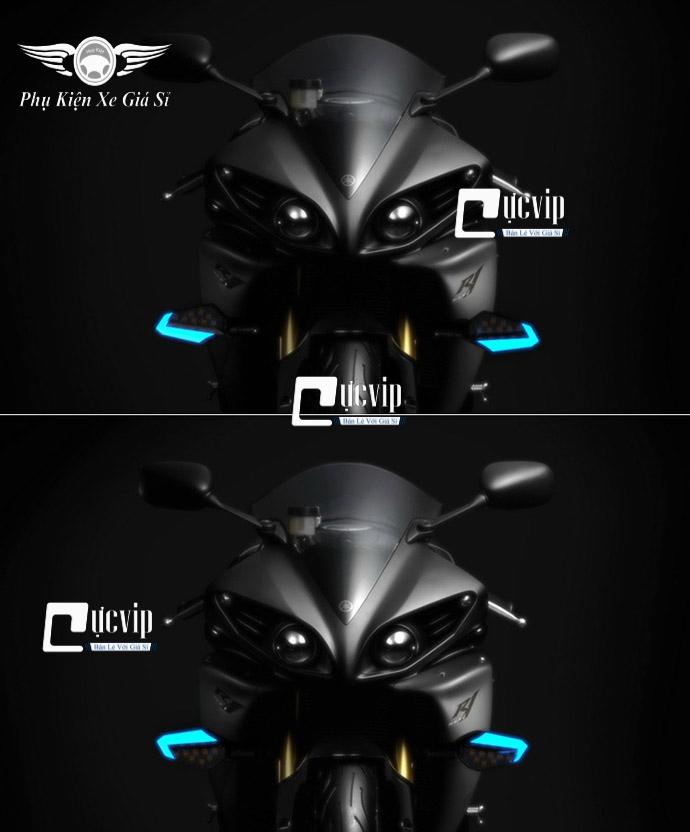 Xi Nhan Độ Winner X, Vario 2018-2020, Exciter 150, MSX Led Chữ V MS3167