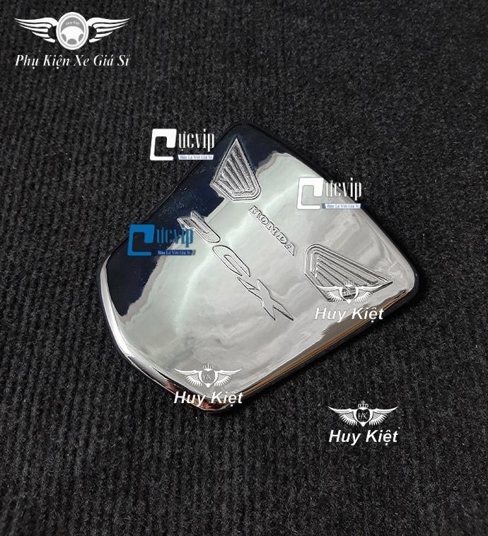 Ốp Nắp Đồ Nghề PCX 2014 - 2017 Xi Inox, Mạ Crom MS3189
