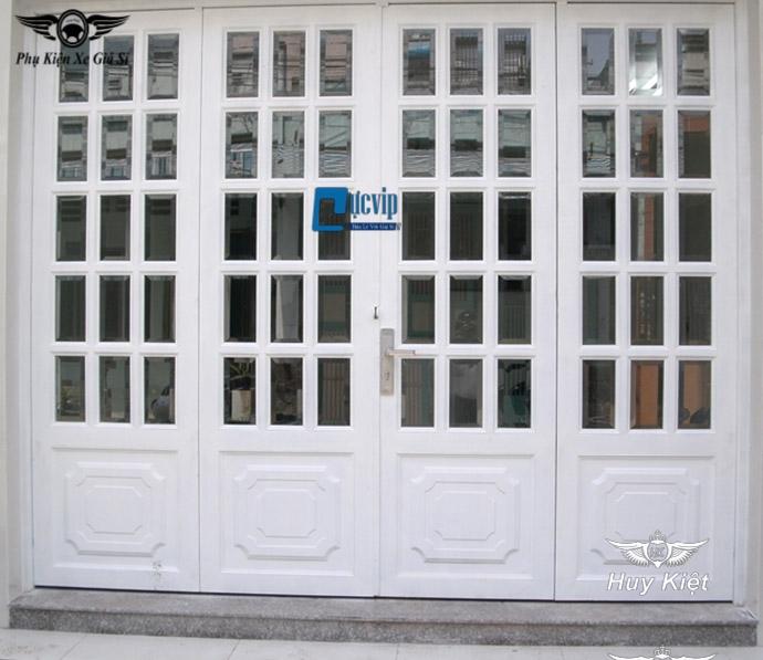 Ổ Khóa Cửa Chính Tay Gạt Cho Cửa Gỗ, Cửa Sắt, Cửa Nhôm Five Stars 001White MS3202