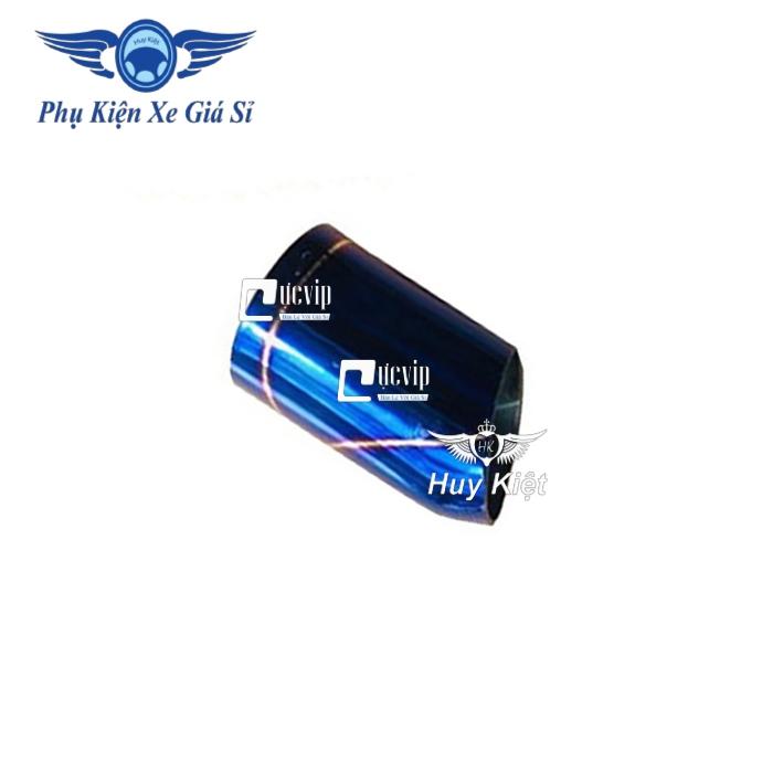 Chụp Ống Xã Pô (Ống Tiêu) Inox Xi Titan Cho Xe Winner X MS3328Chụp Ống Xã Pô (Ống Tiêu) Inox Xi Titan Cho Xe Winner X MS3328