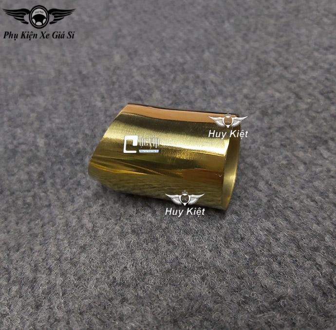 Chụp Ống Xã Pô (Ống Tiêu) Inox Xi Titan Cho Xe Winner X MS3328