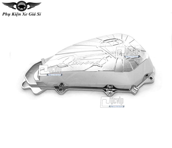 Ốp Pô E SH Mode 2020 K2 Xi Inox, Mạ Crom MS3336